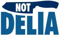 Logo of Not Delia - Kay's foodie blog