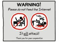 """Do not feed the Internet"" by John Atkinson of Wrong Hands"