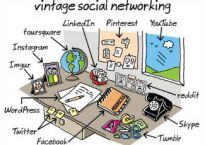 "Cartoon: ""Vintage Social Networking"" by John Atkinson of Wrong Hands"