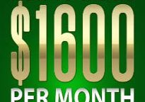 Cover of How to create $1600 per month niche websites