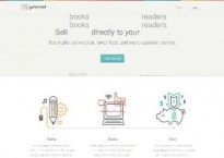 Gumroad home page