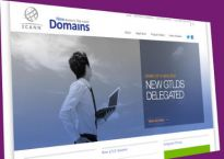 Screenshot of ICANN's page for GTLDs