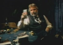 Kenny Rogers in 'The Gambler' video